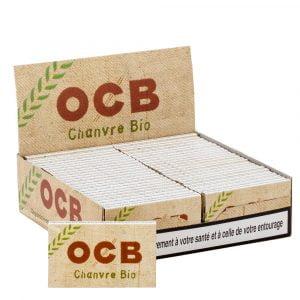Boite de 50 carnets d'ocb courtes chanvre bio