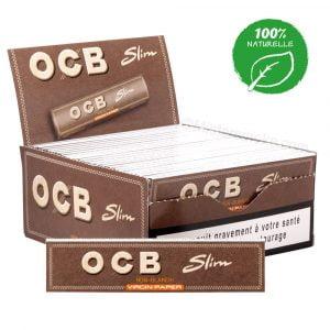 50 carnets ocb slim virgin