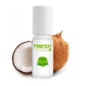 E-liquide French Touch Coco des Iles - 0 mg