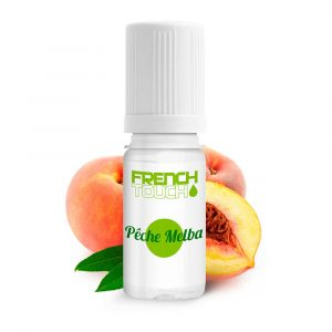 E-liquide French Touch Pêche melba - 0 mg