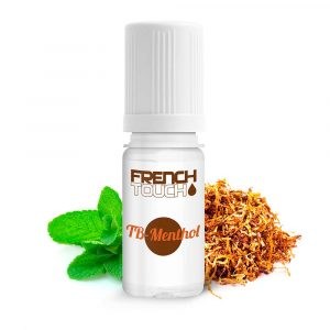 E-liquide French Touch Tabac menthol - 0 mg