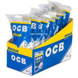 Boite de 30 sachets de 100 filtres OCB regular