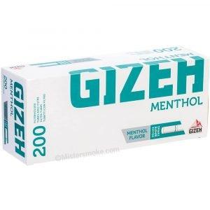 Tubes cigarette Gizeh Menthol par 200