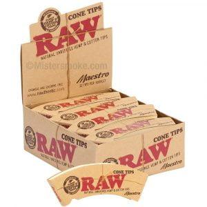 Boite de 34 carnets de tips cônes RAW Maestro