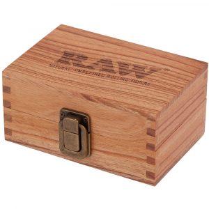 Boite de rangement en bois RAW