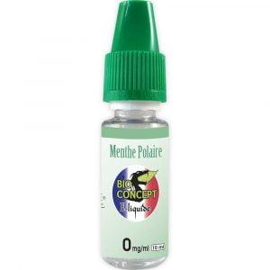 E-liquide 10 ml - Menthe polaire - Bioconcept - 0mg/ml