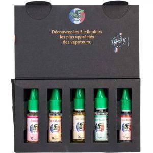 Coffret découverte 5 e-liquides - Bioconcept