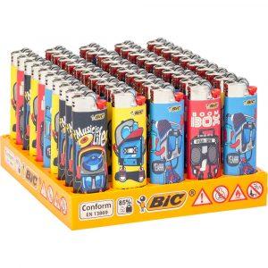 Boite de 50 briquets Bic Maxi - Freestyle
