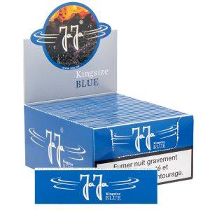 Boite de 50 carnets de feuilles slim Jaja Blue