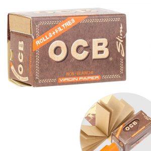 OCB Rolls Virgin + Tips