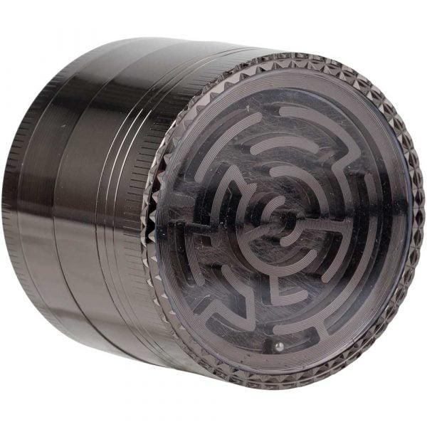 Grinder en métal 4 parties Labyrinthe