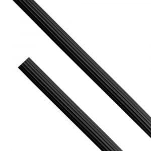 Tuyau silicone Dschinni - Noir