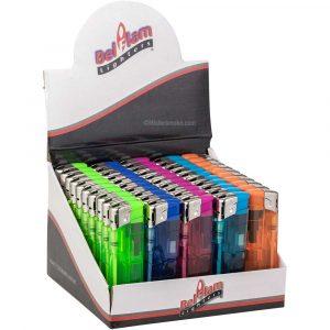 Boite de 50 briquets électroniques Colorfun