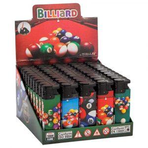 Briquets électroniques décorés - Billard