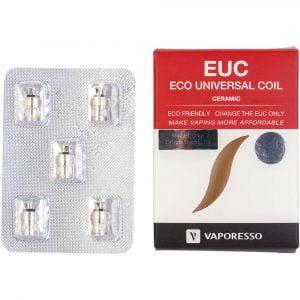 Lot de 5 résistances Vaporesso EUC Mini Ceramic