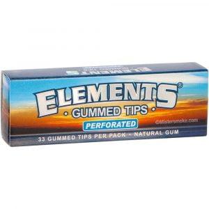etui de 33 filtres elements gummed perforated