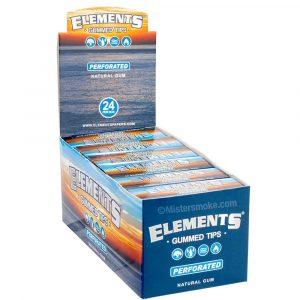 boite de 24 étuis de 33 filtres elements gummed perforated