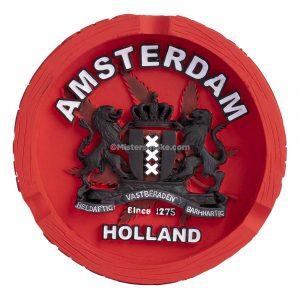 cendrier resine amsterdam holland