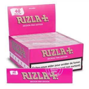 Rizla Micron pink Slim - Boite