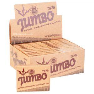 Boite de filtres carton pré roulés Jumbo Hemp