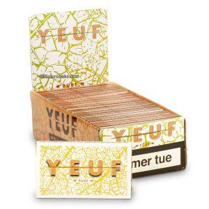 Boite de 25 carnets YEUF Pure regular